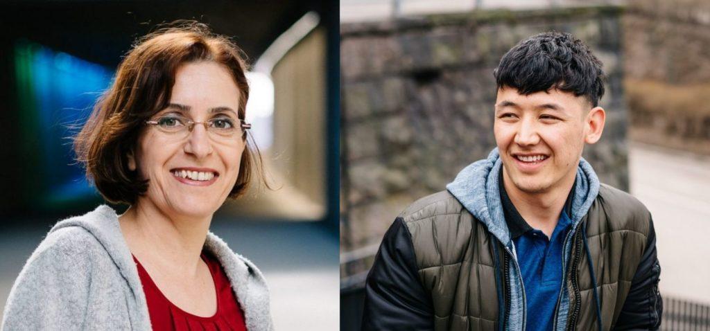 Muotokuvat Vuoden pakolaisista 2018 Sirwa Farik ja Ahmad Hosseini