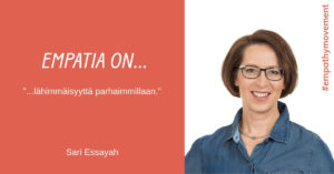 Empatia on... haastattelussa Sari Essayah