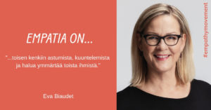 Empatia on... haastattelussa Eva Biaudet #empathymovement