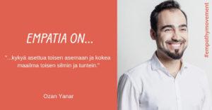 Empatia on... haastattelussa Ozan Yanar #empathymovement