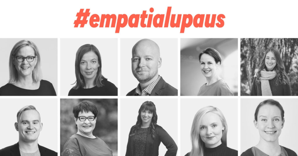 Empatialupauksen tehneet kansanedustajat #empatialupaus