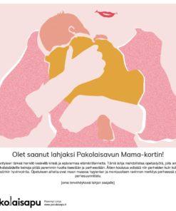 Pakolaisavun Mama Parempi Lahja -sähköinen kortti