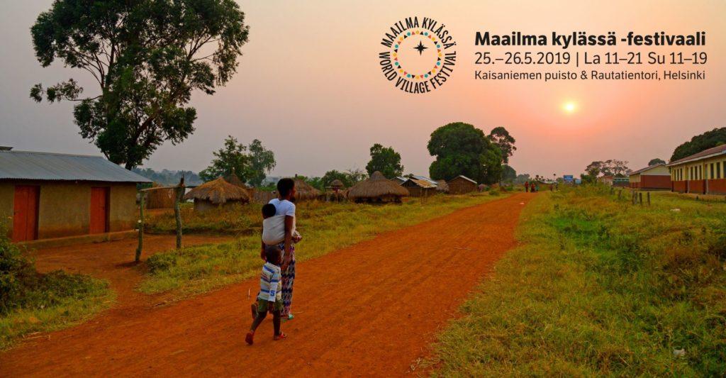 Pakolaisapu järjestää ohjelmaa Maailma kylässä -festivaaleilla 2019
