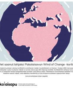 Pakolaisavun Wind of Change Parempi Lahja -sähköinen kortti