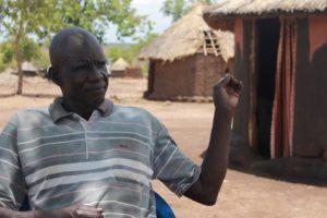 Pakolaismies Caesar Ugandassa