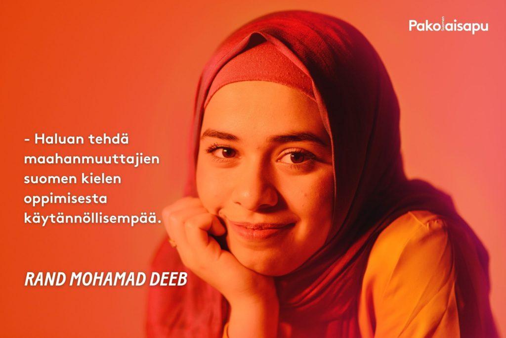Rand Mohamad Deeb, Empathy Movementin empatialähettiläs