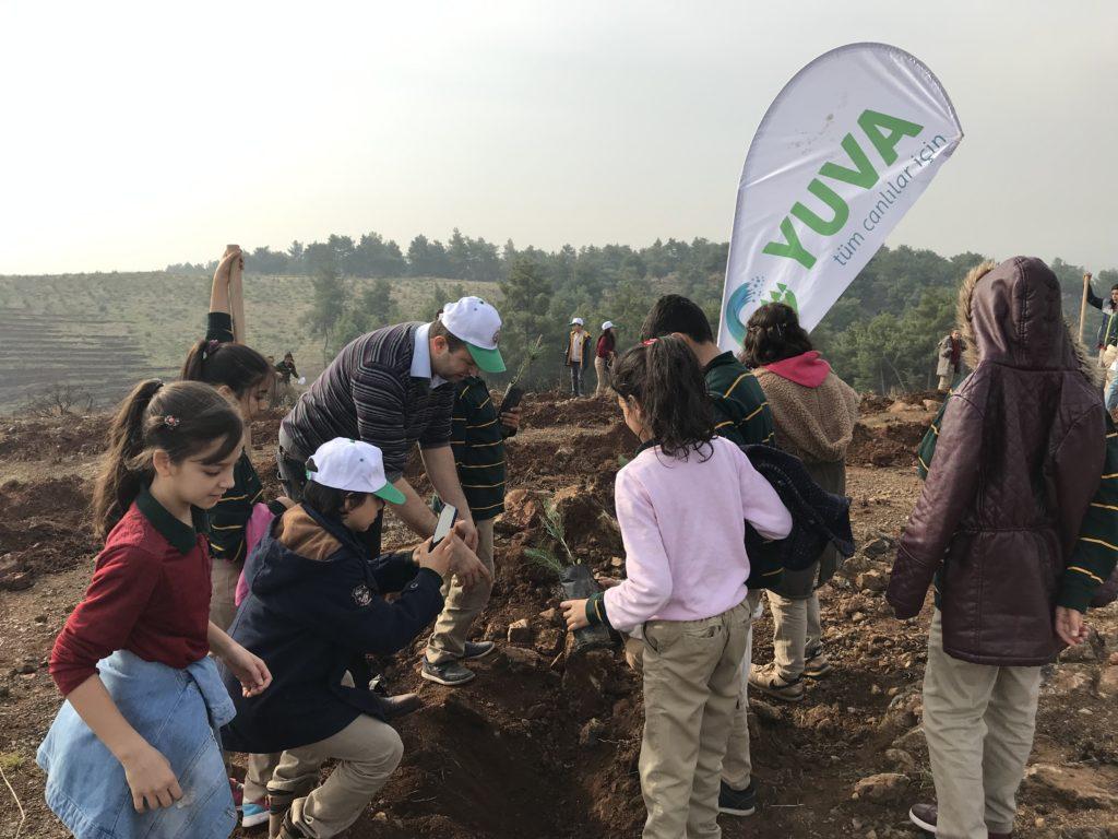 YUVA:n toimintaa kohdemaassa Turkissa