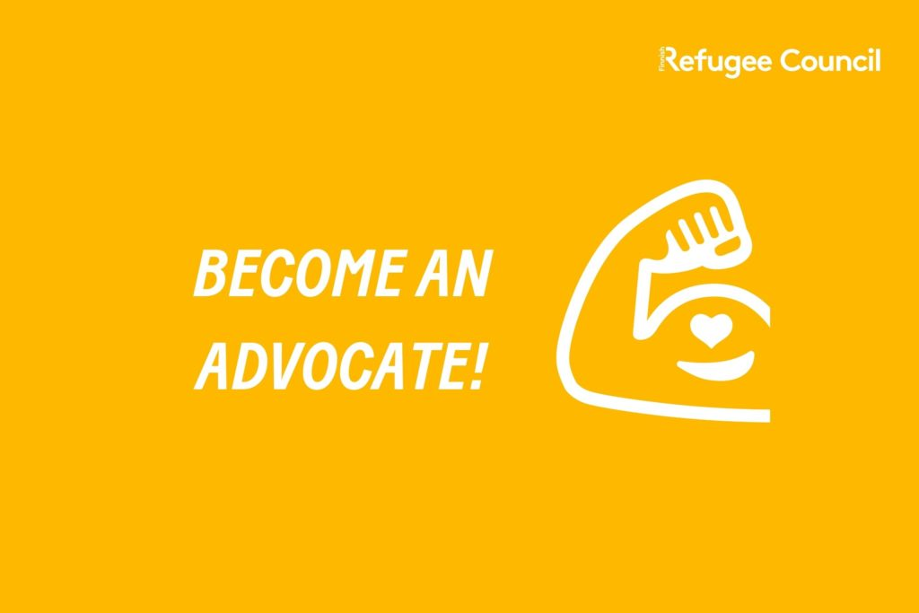 Become an advocate!